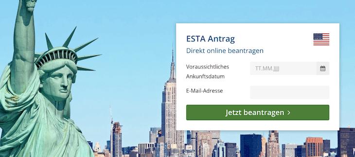 ESTA-Formular