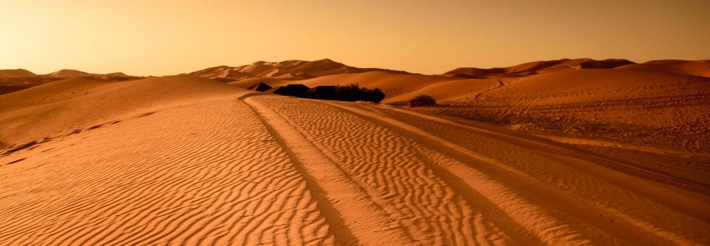 Sehenswürdigkeit in Ägypten: die Wüste