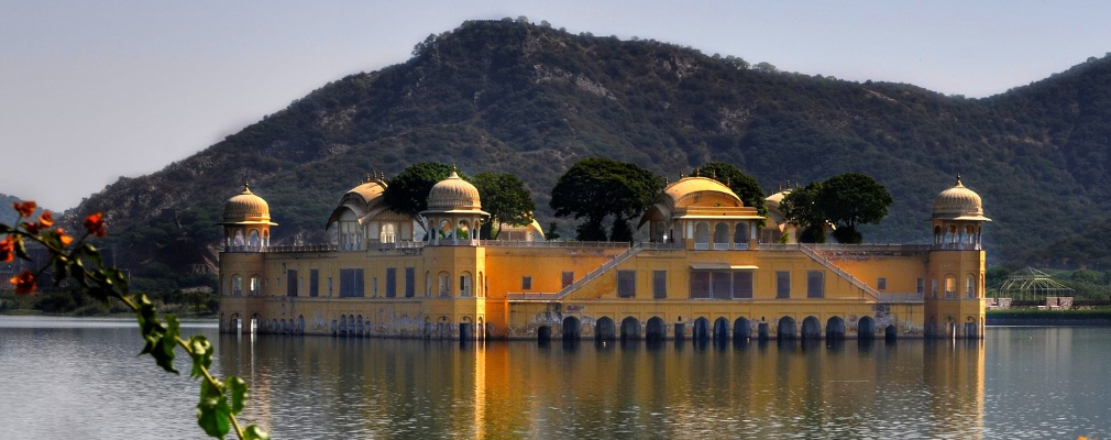 Jal Mahal (Wasserpalast), Jaipur, Indien