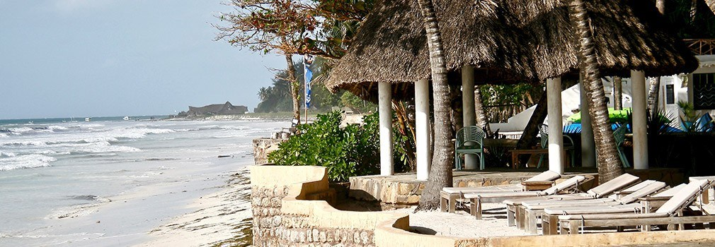 Resort an Diani Beach in Kenia