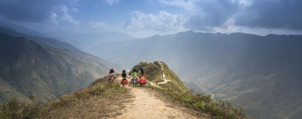 Aussicht in Vietnam